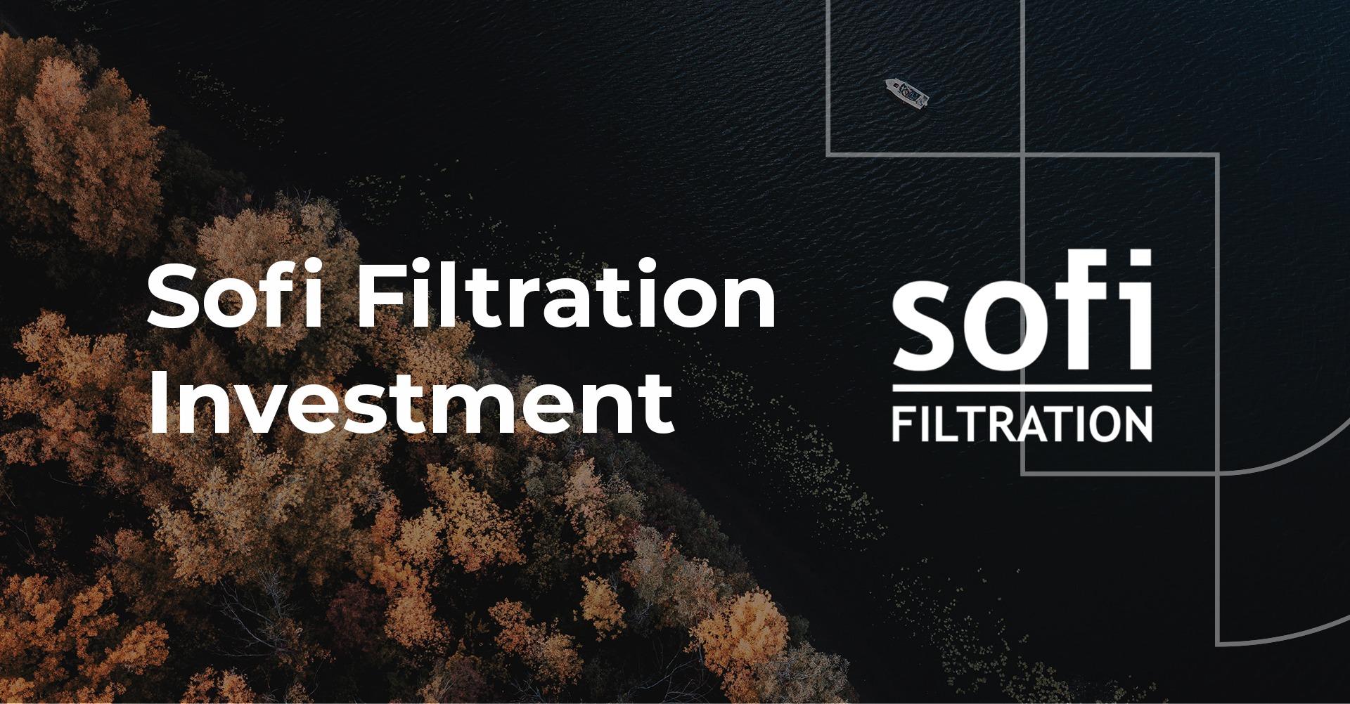 Sofi Filtration announcement thumbnail